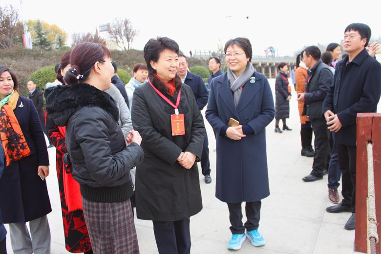 驻豫全国人大代表赴三门峡视察生态环境保护